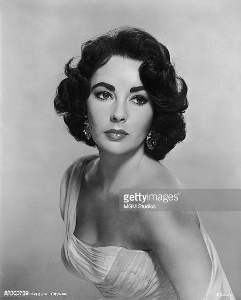 Actress Elizabeth Taylor 1954 A promotional shot for the film 'Elephant Walk'