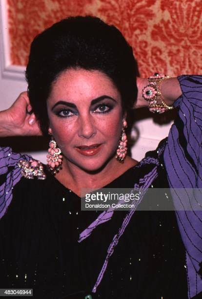 Actress Elizabeth Taylor attends an event on February 14 1980 in Los Angeles California
