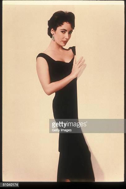 """Actress Elizabeth Taylor Poses In An Old Film Still, circa 1955. Taylor Is An Award Winning Actress Who Has Appeared In Such Films As """"Who's Afraid..."""