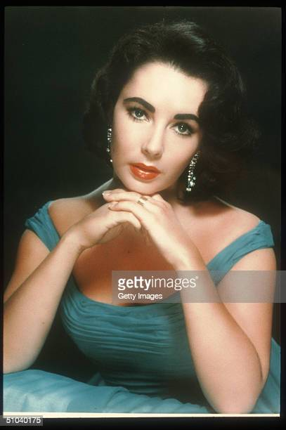 """Actress Elizabeth Taylor Poses In An Old Film Still, circa 1960. Taylor Is An Award Winning Actress Who Has Appeared In Such Films As """"Who's Afraid..."""