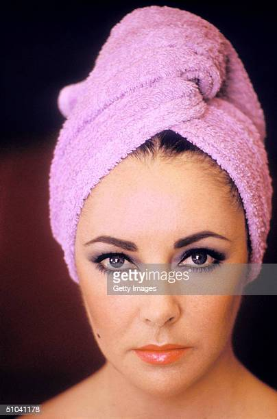 Actress Elizabeth Taylor Poses In USA mid1960s A Childhood Star After Her Appearance In 'National Velvet' At Twelve Taylor Would Later Win Best...
