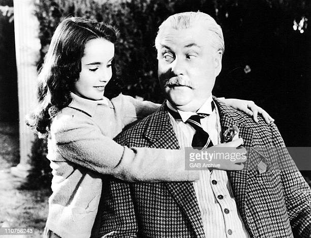 Actress Elizabeth Taylor with Nigel Bruce in a still from the film 'Lassie Come Home' 1943