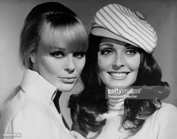 "Actress Elke Sommer and Sharon Tate in a scene from the movie ""The Wrecking Crew"""