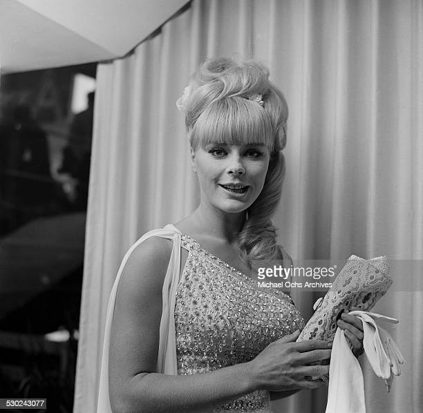 Actress Elke Sommer attends an event in Los AngelesCA