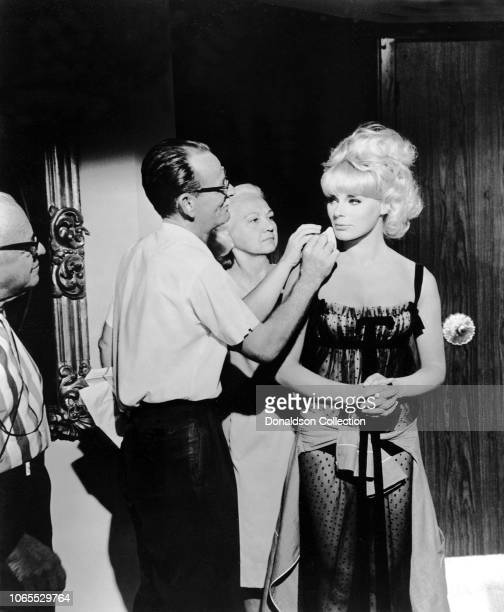 "Actress Elke Sommer in a scene from the movie ""The Oscar"""