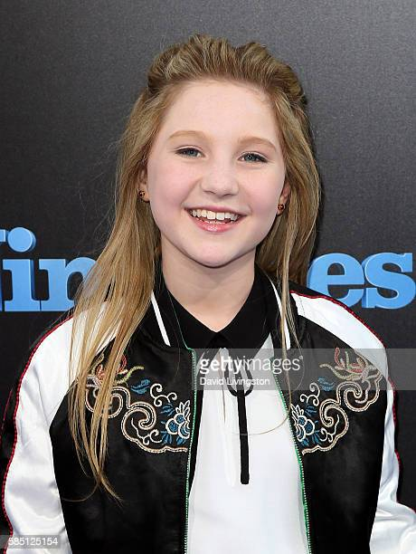 Actress Ella Anderson attends the premiere of EuropaCorp's 'Nine Lives' at the TCL Chinese Theatre on August 1 2016 in Hollywood California