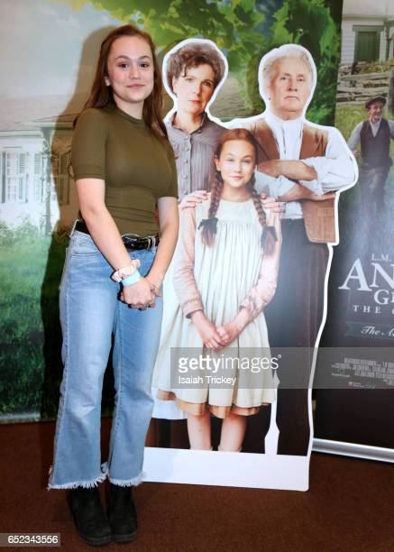 Actress Ella Ballentine of the television series 'Anne of Green Gables' attends the Academy of Canadian Cinema and Television's Family Fan Day 2017...