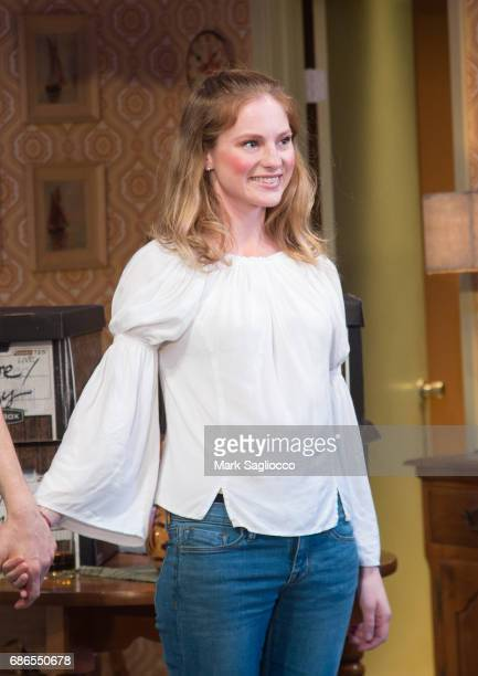 Actress Ella Dershowitz attends the Can You Forgive Her Opening Night at the Vineyard Theatre on May 21 2017 in New York City