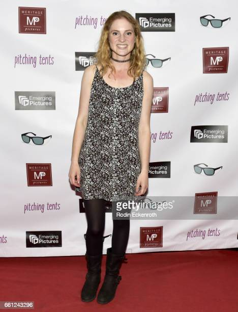 Actress Ella Dershowitz attends the premiere of Meritage Pictures' Pitching Tents at Laemmle Monica Film Center on March 30 2017 in Santa Monica...