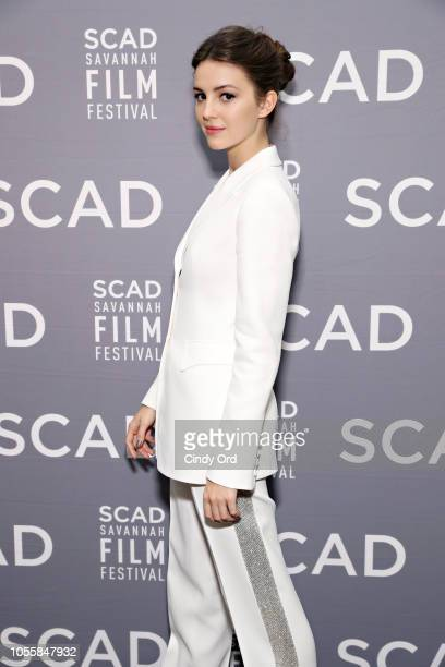 Actress Ella Hunt attends the 'Anna and the Apocalypse' QA at the 21st SCAD Savannah Film Festival on October 31 2018 in Savannah Georgia