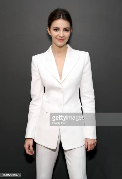 Actress Ella Hunt poses for a portrait during the 21st SCAD Savannah Film Festival on October 31 2018 in Savannah Georgia