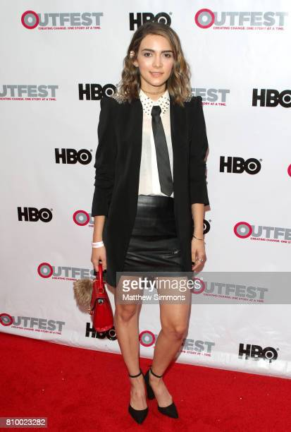Actress Ella Lentini attends the opening night gala of 'God's Own Country' at the 2017 Outfest Los Angeles LGBT Film Festival at Orpheum Theatre on...