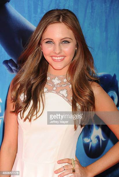 Actress Ella Linnea Wahlestedt attends the premiere of 'Earth to Echo' during the 2014 Los Angeles Film Festival at Regal Cinemas LA Live on June 14...