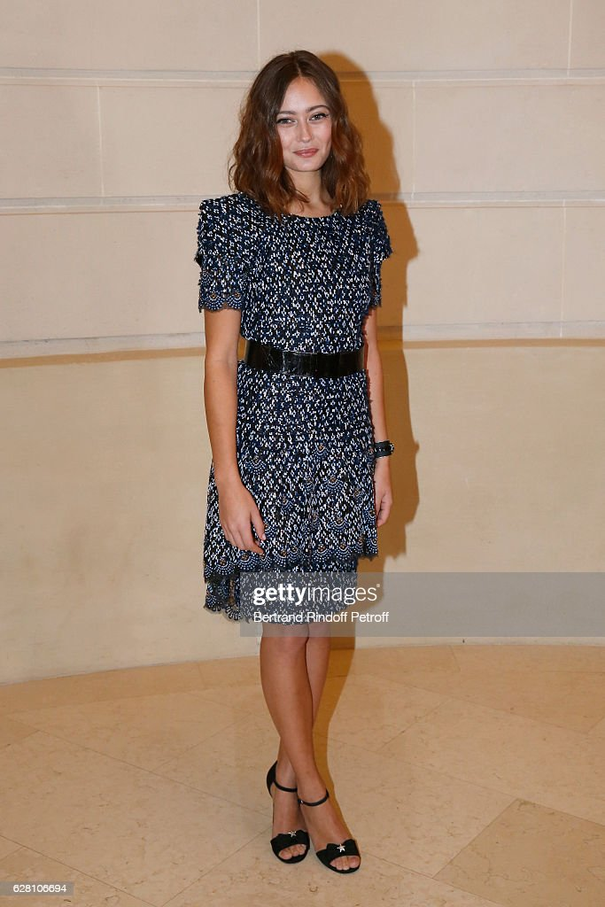 Actress Ella Purnell attends the 'Chanel Collection des Metiers d'Art 2016/17 : Paris Cosmopolite'