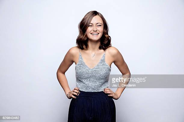 Actress Ella Purnell from the film Journey is the Destination poses for a portraits at the Toronto International Film Festival for Los Angeles Times...