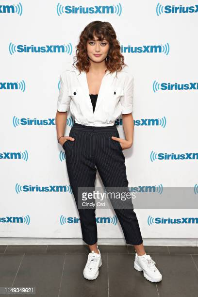 Actress Ella Purnell visits the SiriusXM Studios on June 11 2019 in New York City