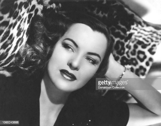 Actress Ella Raines in a scene from the movie Hail the Conquering Hero