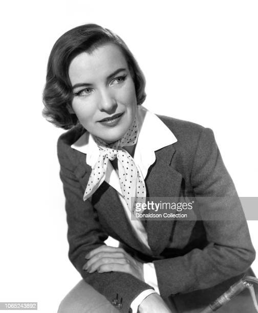 Actress Ella Raines in a scene from the movie The Man in the Road