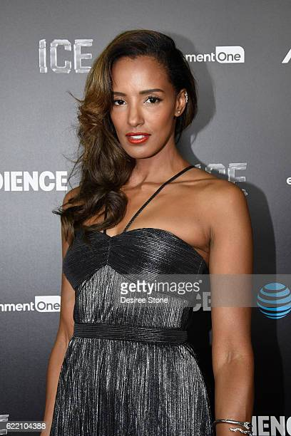 Actress Ella Thomas attends the premiere of Audience Network's Ice at ArcLight Cinemas on November 9 2016 in Hollywood California