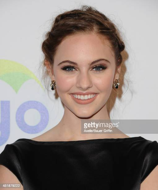 Actress Ella Wahlestedt arrives at the 5th Annual Thirst Gala at The Beverly Hilton Hotel on June 24 2014 in Beverly Hills California