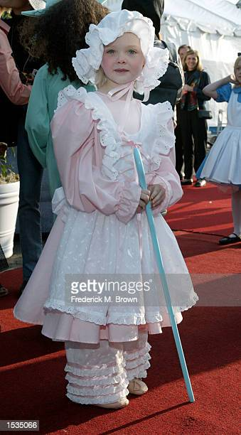 Actress Elle Fanning attends the 9th Annual Dream Halloween Los Angeles benefit on October 26 2002 in Santa Monica California The fund raising event...