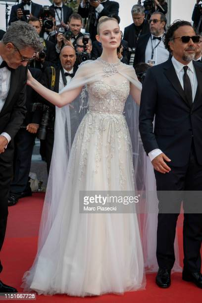 """Actress Elle Fanning attends the closing ceremony screening of """"The Specials"""" during the 72nd annual Cannes Film Festival on May 25, 2019 in Cannes,..."""