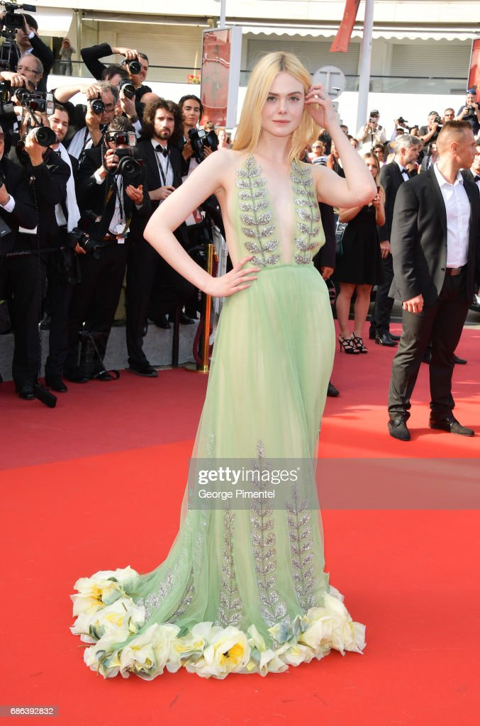 """How To Talk To Girls At Parties"" Red Carpet Arrivals - The 70th Annual Cannes Film Festival : News Photo"