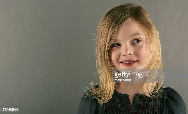 Actress Elle Fanning from the film 'The Nines' poses for a portrait during the 2007 Sundance Film Festival on January 21 2007 in Park City Utah