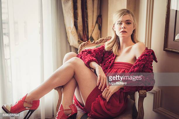 Actress Elle Fanning is photographed for Self Assignment on May 15 2016 in Cannes France