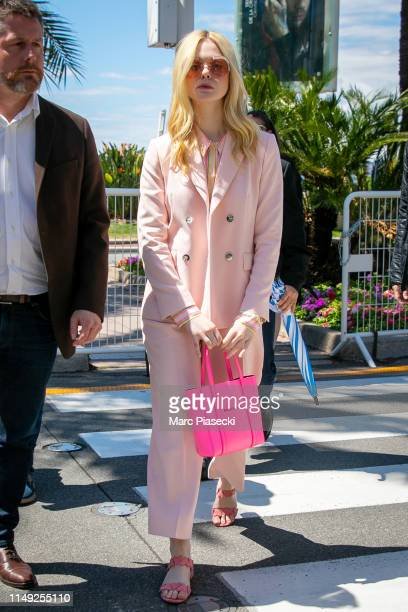 Actress Elle Fanning is seen during the 72nd annual Cannes Film Festival at on May 15, 2019 in Cannes, France.