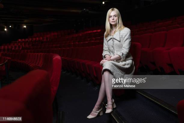 Actress Elle Fanning poses for a portrait on May 16 2019 in Cannes France
