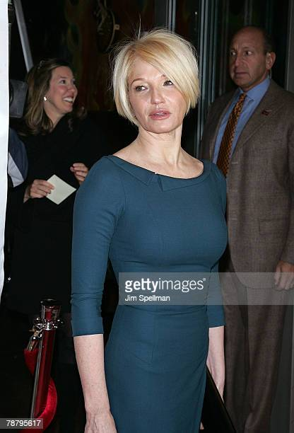 Actress Ellen Barkin arrives at the 2007 New York Film Critic's Circle Awards at Spotlight on January 6, 2008 in New York City.