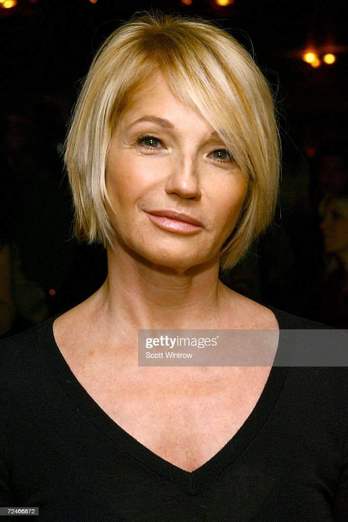 Actress Ellen Barkin Arrives For The Book Launch Party For Laura