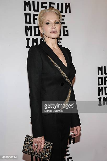 Actress Ellen Barkin attends as Museum Of The Moving Image Honors Julianne Moore at 583 Park Avenue on January 20 2015 in New York City