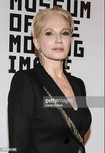 Actress Ellen Barkin attends Museum Of The Moving Image Honors Julianne Moore at 583 Park Avenue on January 20 2015 in New York City