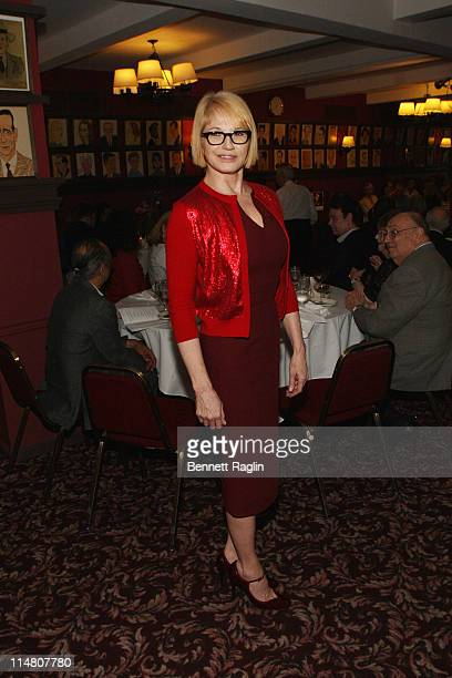 Actress Ellen Barkin attends the 61st annual Outer Circle Critics awards at Sardi's on May 26, 2011 in New York City.