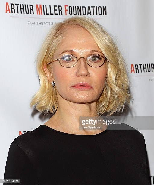 Actress Ellen Barkin attends the Arthur Miller One Night 100 Years Benefit at Lyceum Theatre on January 25 2016 in New York City