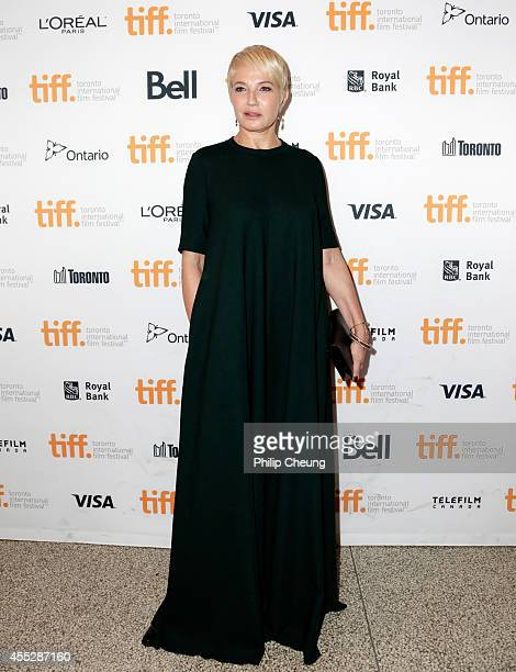 Actress Ellen Barkin attends The Cobbler premiere during the 2014 Toronto International Film Festival at The Elgin on September 11 2014 in Toronto...