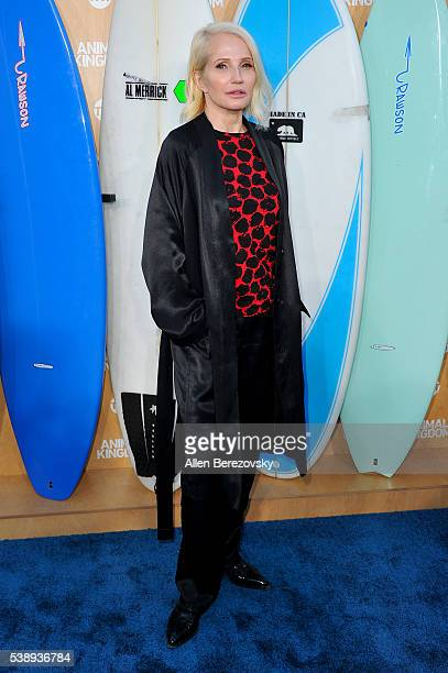 Actress Ellen Barkin attends the premiere of TNT's Animal Kingdom at The Rose Room on June 8 2016 in Venice California