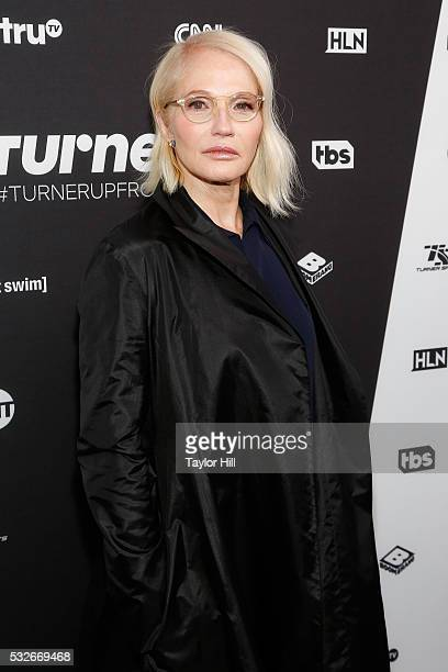 Actress Ellen Barkin attends the Turner Upfront 2016 arrivals at The Theater at Madison Square Garden on May 18 2016 in New York City