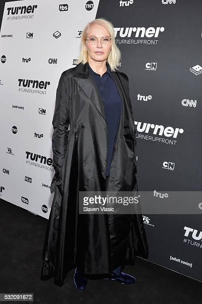 Actress Ellen Barkin attends the Turner Upfront 2016 at Nick & Stef's Steakhouse on May 18, 2016 in New York City.