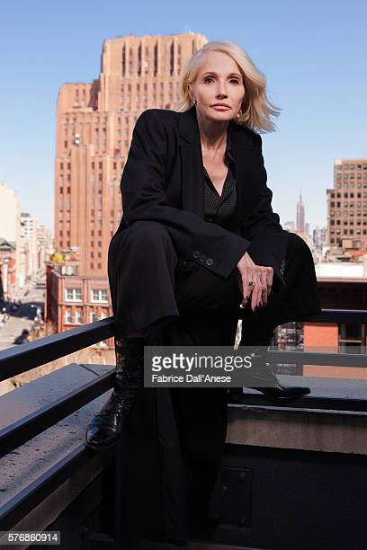 Actress Ellen Barkin is photographed for Vanity Faircom on April 19 2016 in New York City