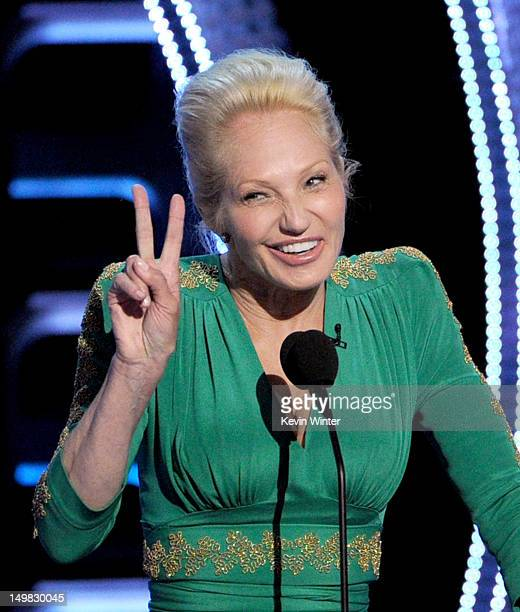 Actress Ellen Barkin speaks onstage during the Comedy Central Roast of Roseanne Barr at Hollywood Palladium on August 4 2012 in Hollywood California
