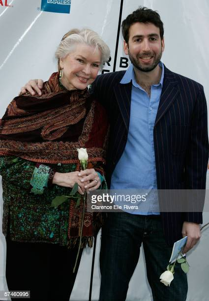Actress Ellen Burstyn and director Seth Grossman attend the premiere of 'The Elephant King' during the 5th Annual Tribeca Film Festival April 26 2006...