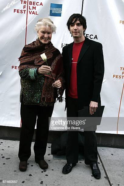 Actress Ellen Burstyn and producer Emanuel Michael attend the premiere of 'The Elephant King' during the 5th Annual Tribeca Film Festival April 26...