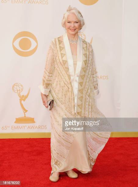 Actress Ellen Burstyn arrives at the 65th Annual Primetime Emmy Awards at Nokia Theatre LA Live on September 22 2013 in Los Angeles California