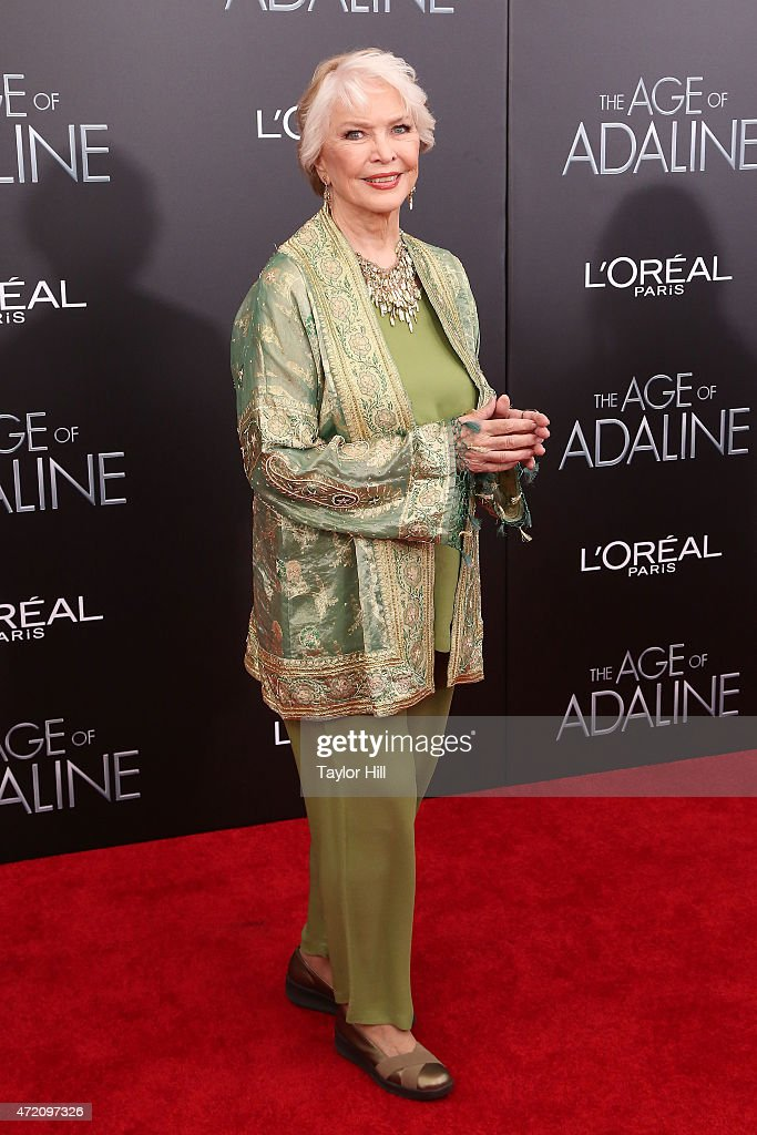 Actress Ellen Burstyn attends 'The Age of Adaline' premiere at AMC Loews Lincoln Square 13 theater on April 19, 2015 in New York City.