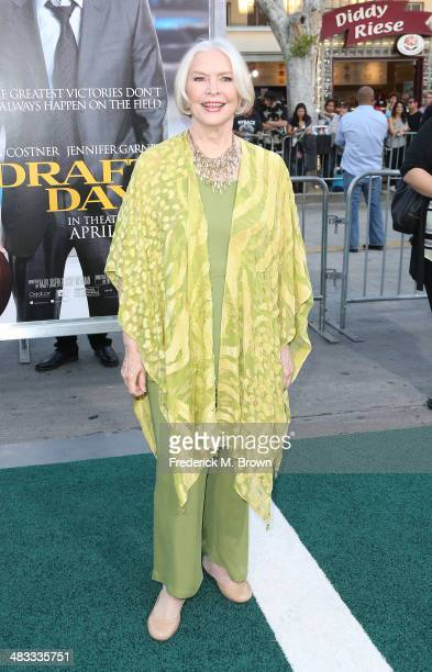 Actress Ellen Burstyn attends the Premiere of Summit Entertainment's 'Draft Day' at the Regency Bruin Theatre on April 7 2014 in Los Angeles...