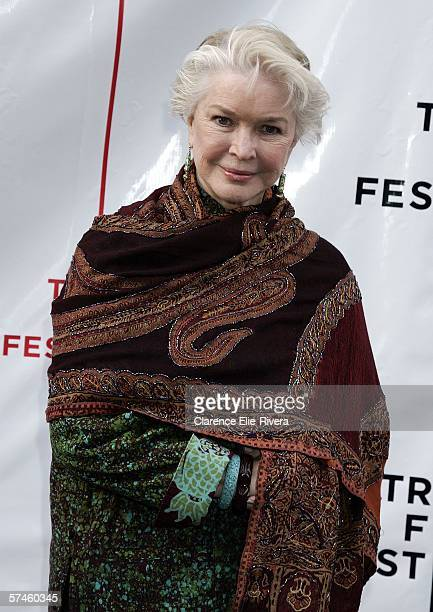 Actress Ellen Burstyn attends the premiere of 'The Elephant King' during the 5th Annual Tribeca Film Festival April 26 2006 in New York City