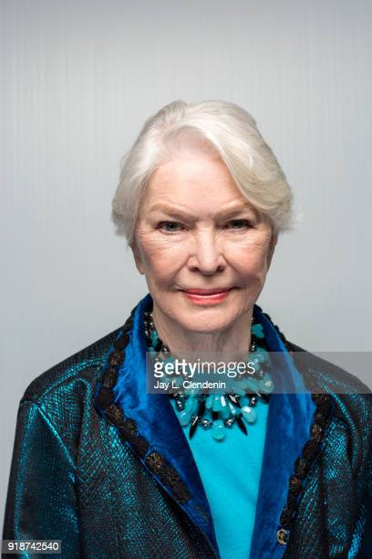 Actress Ellen Burstyn from the film 'The Tale' is photographed for Los Angeles Times on January 21 2018 in the LA Times Studio at Chase Sapphire on...
